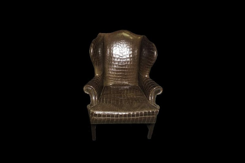 Exceptionnel Exclusive Armchairs, Chairs, Sofas, Tables, Cabinets, Cupboards And Any  Other Furniture In The Decoration Of Crocodile Skin.
